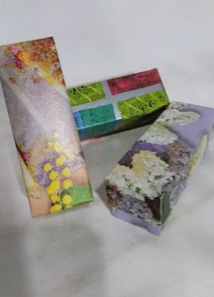 Коробка подарочная, картонная, цветная 9/3/3 см