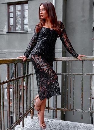 Платье-тройка боди + платье-подкладка + платье чехол с вышивко...