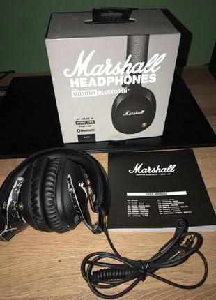 Marshall monitor bluetooth, б/у рабочие 15 часов