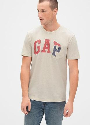 Футболка мужская размер gap оригинал футболки мужские с логотипом