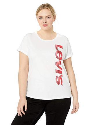 Женская футболка levis женские футболки больших размеров