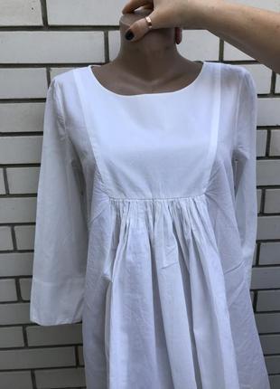 Белая блузка,рубаха,туника в этно,бохо,деревенский стиль,хлопо...