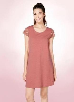 Домашнее платье (ночная рубашка) размер m