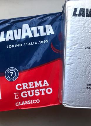 Кофе молотый Lavazza Crema e Gusto Classico 250 гр. Италия