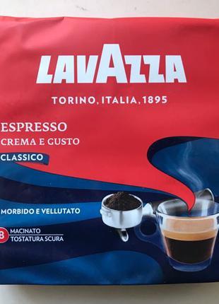 Кофе молотый Lavazza Crema e Gusto Espresso 250 гр. Италия