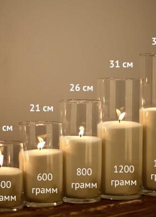 Аренда ваз для насыпных свечей