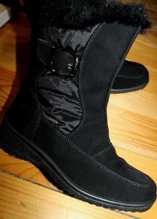 37 - 38 разм. зима. ботинки ara gore - tex. термо
