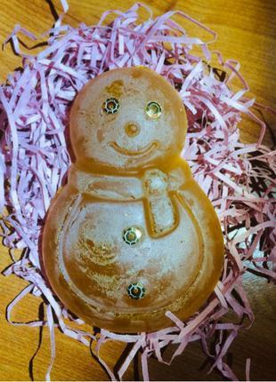 Мыло с нуля глицериновое новогоднее Подарок к новому году