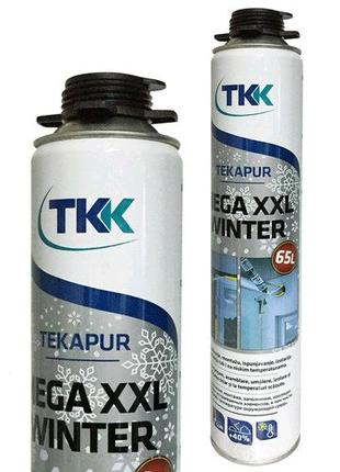 Монтажная пена TKK 65L winter, зимняя с бесплатной доставкой
