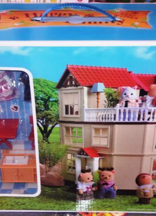 Игровой домик Happy Family 012-10  Sylvanian Families