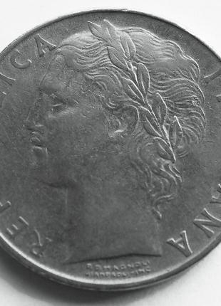 100 лир 1955 года