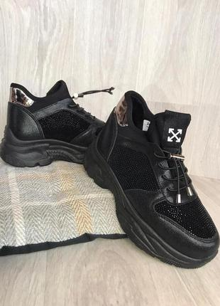 Зимние ботинки женские кроссовки
