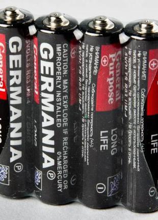 Батарейка микропальчик GERMANIA R03 (60 штук)