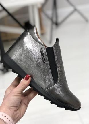 Женские туфли, из натуральной кожи