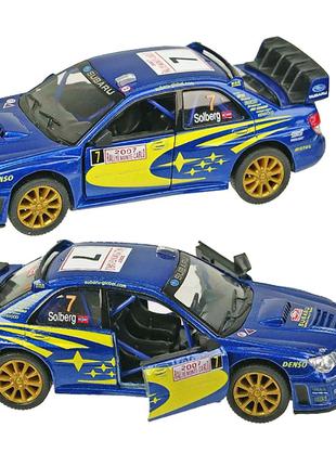 "Машинка KINSMART ""Subaru Impreza WRS"""