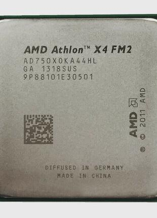 Четырехядерный AMD Athlon х4 750 3.9 GHz Turbo, FM2, 65 Вт.