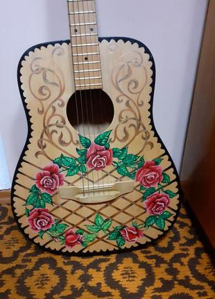 Гітара акустична Гитара аккустическая классическая расписная