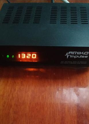 Спутниковый ресивер DVB-S/S2 Amiko Impulse HD тюнер супутниковий