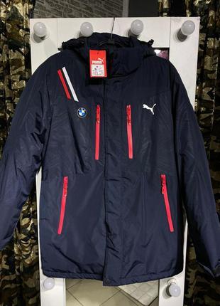 Мужская зимняя куртка puma bmw