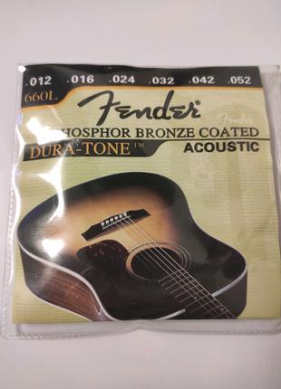 Струны для акустической гитары 660L