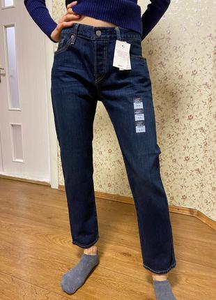Оригинальные джинсы Levis 501 CT Stretch W26 L32