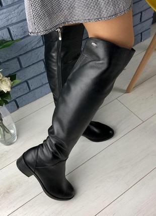 Женские сапоги - ботфорты