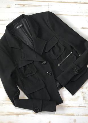 Крутой чёрный пиджак/жакет blacky dress berlin❤️