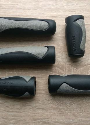 Грипсы, ручки руля для велосипеда, SRAM оригинал,мягкие и удобные