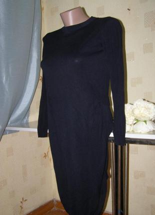Cos платье туника 100% вискоза  xs-s-размер