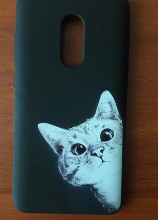 Новый Чехол/бампер/накладка на Xiaomi Redmi Note 4- силикон