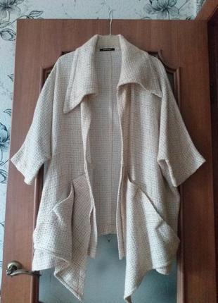 """Niederberger дизайнерское пальто """"оверсайз"""" в стиле бохо"""