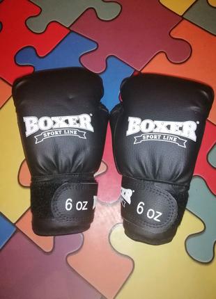Перчатки boxer sport line 6 oz
