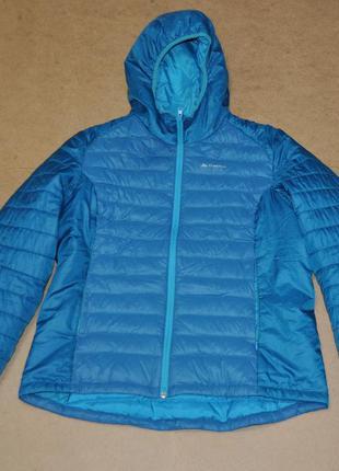 Quechua женская куртка пуховик зима