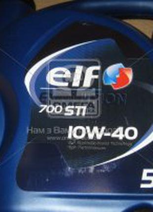 Масло моторн. ELF Evolution 700 STI 10W-40 (SN) (Канистра 5л)  El