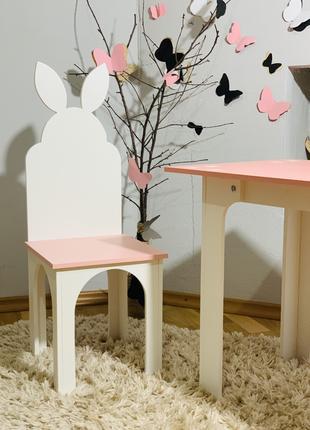 Столик и стульчик Зайка Стол и стул (стулик) парта