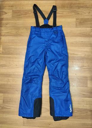 Crivit зимний полукомбинезон, лыжные штаны на рост 134-140