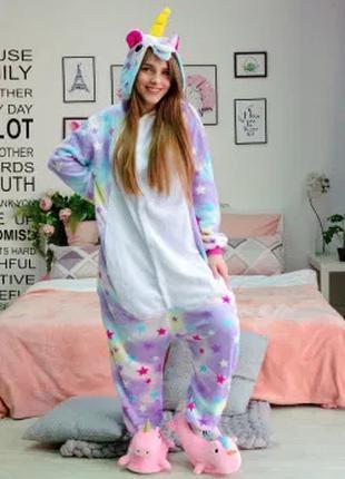 ОРИГИНАЛ! Пижама кигуруми Звездный Единорог L - на рост от 165 см