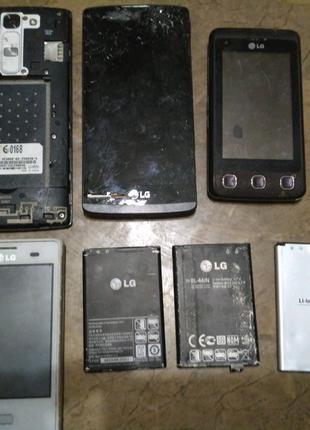 LG h525, h340, e400, kp500, e445 запчасти