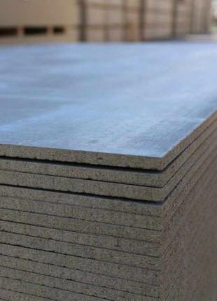Цементно-Стружечные Плиты (ЦСП) 10х1250х3200. ЦСП Плита