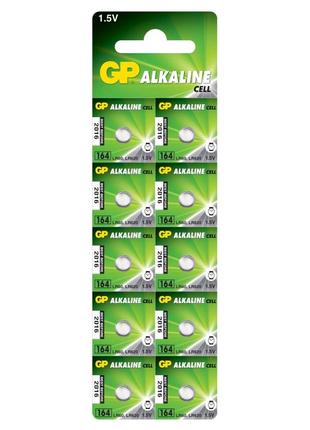 Батарейка GP AG13 (164-U10, LR620, LR60), 1.5V Alkaline