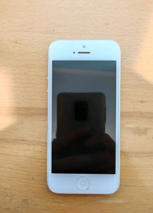 IPhone 5 16 gb iCloud чистий