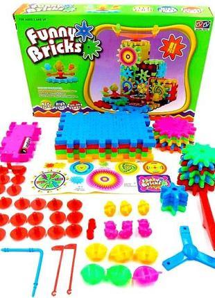 Детский конструктор Funny Bricks Веселые шестерни