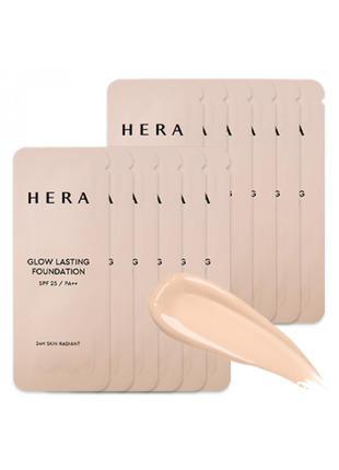 Сияющая стойкая тональная основа hera glow lasting foundation ...