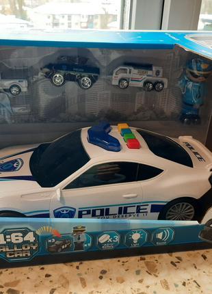 Машинка-гараж 660 А-206 Полиция