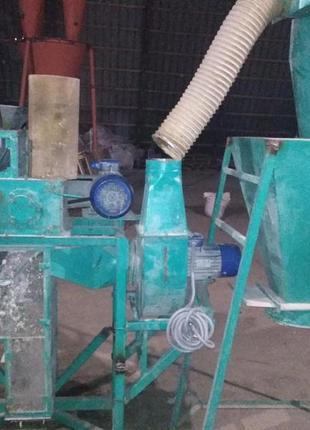 Вальцовый станок для производства круп