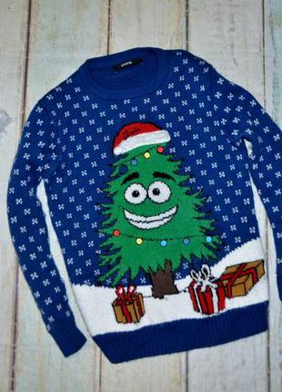 Новогодний свитер 8-10 лет