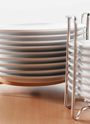 Держатель для тарелок, подставка - варьера икея / ikea