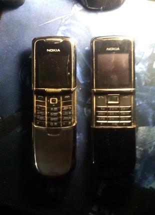 Продам 2 оригинальных телефона Nokia 8800 возможен торг