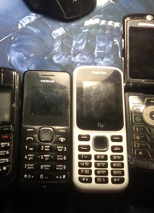 Продам нерабочие кнопочные телефоны