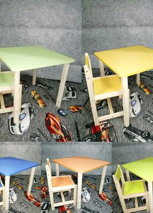 Наборы детские столики и стульчики